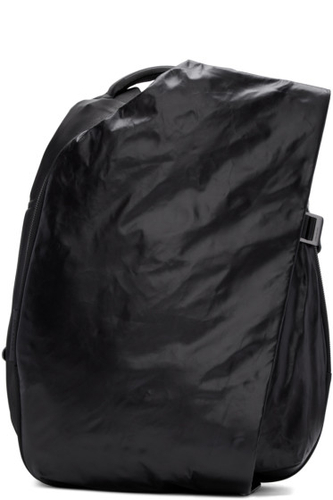 Côte & Ciel - Black Small Isar MemorySuede Backpack