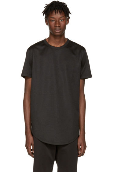 Pyer Moss -  Black Mesh Ryan T-Shirt
