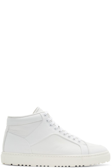 ETQ Amsterdam - White High 1 Sneakers