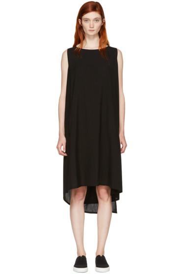 Yohji Yamamoto - Black Hard Twist Dress