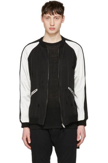 Christian Dada - Black Damaged Souvenir Jacket
