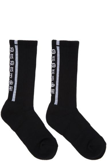 Christian Dada - Black Old School Socks
