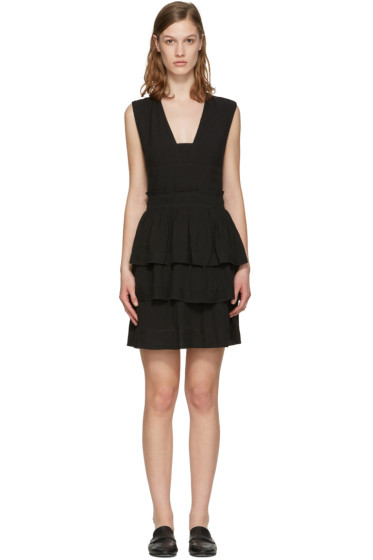 Isabel Marant Etoile - Black Kali Flounce Dress