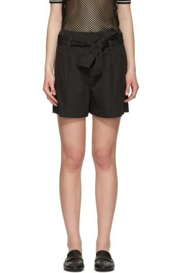Isabel Marant Etoile - Black Oscar Bow Shorts