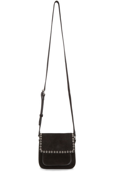 Isabel Marant - Black Suede Small Marfa Bag