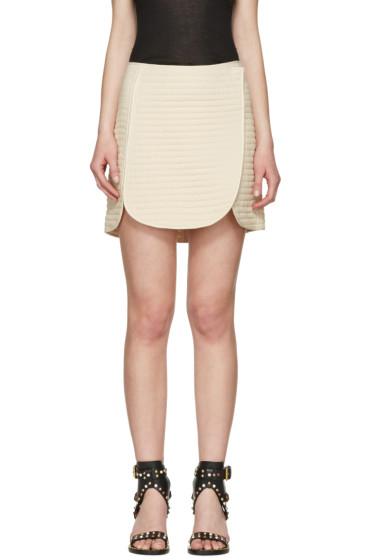 Isabel Marant - Ecru Prunella Miniskirt
