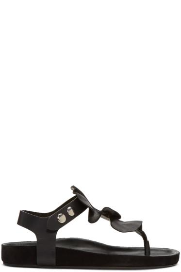 Isabel Marant - Black Leakey Sandals