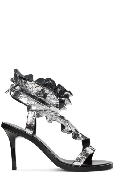 Isabel Marant - Silver Ansel Sandals