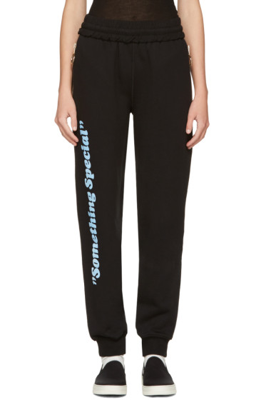 Off-White - Black 'Something Special' Lounge Pants