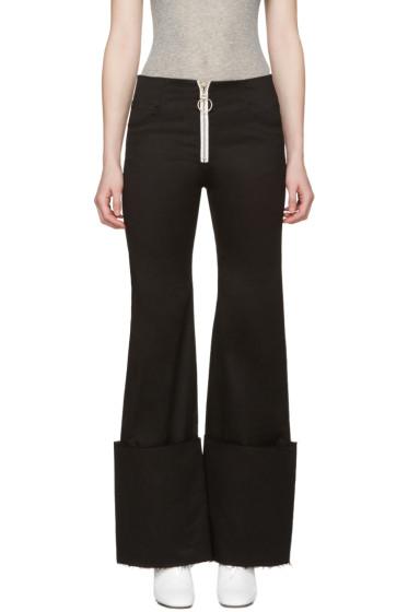 Off-White - Black Cuff Trousers