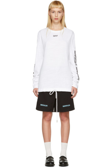 Off-White - White Quotes T-Shirt