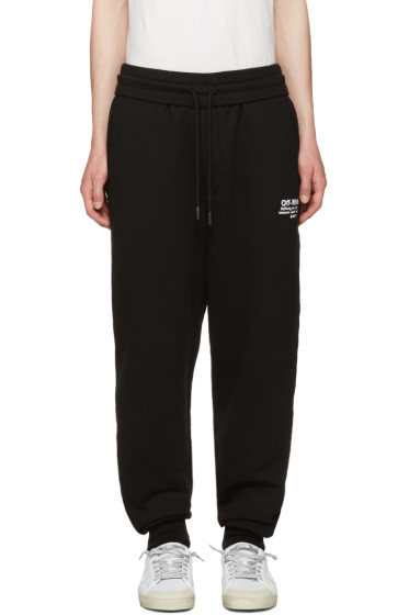 Off-White - Black Off Lounge Pants