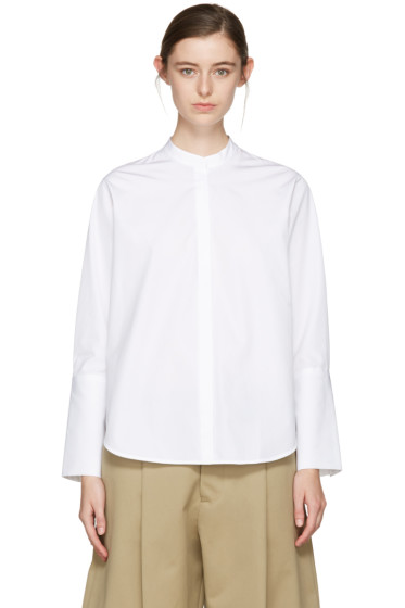 Studio Nicholson - White Alonso Noisy Shirt
