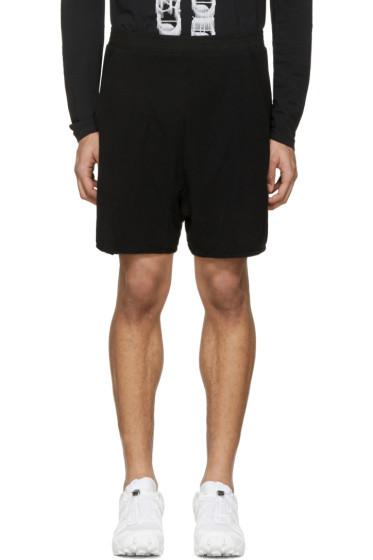 11 by Boris Bidjan Saberi - Black Mesh Jogging Shorts