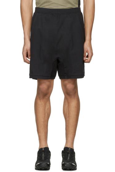 11 by Boris Bidjan Saberi - Black Jogging Shorts