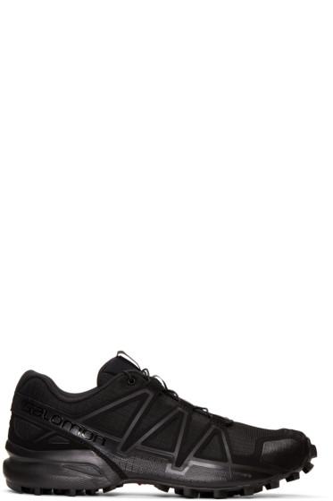 11 by Boris Bidjan Saberi - Black Salomon Edition Speed Cross Running Sneakers