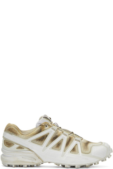 Boris Bidjan Saberi - White Salomon Edition Speedcross 4 Sneakers