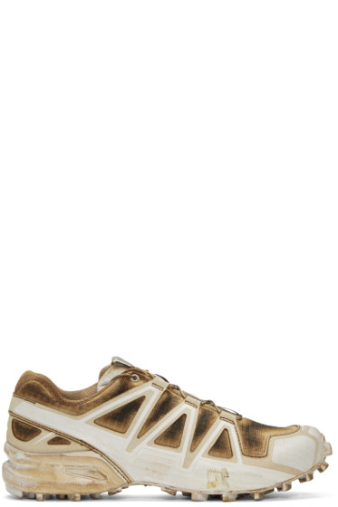 Boris Bidjan Saberi - Brown Salomon Edition Speedcross 4 Sneakers