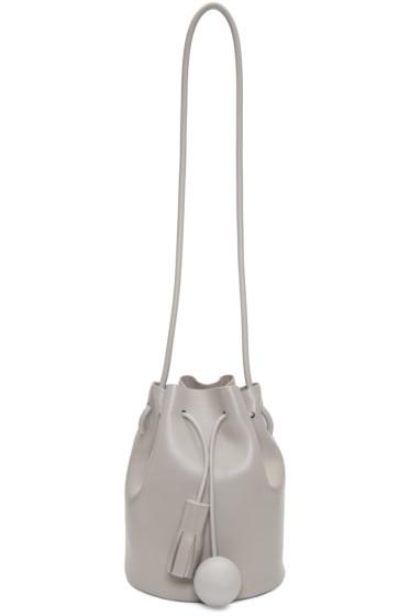 Building Block Grey Mini Bucket Bag from SSENSE - Styhunt