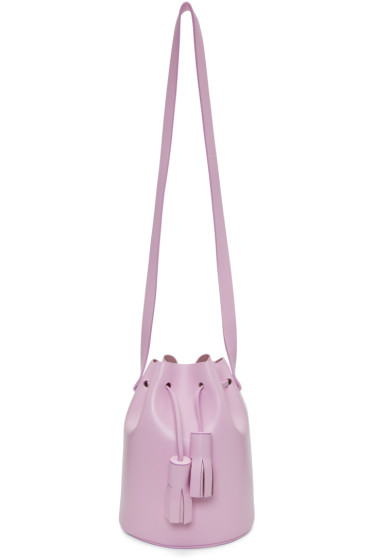 Building Block - Pink Mini Bucket Bag