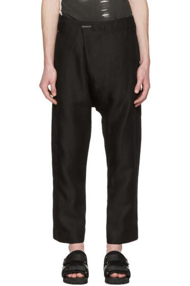 Nude:mm - Black Tailor Trousers
