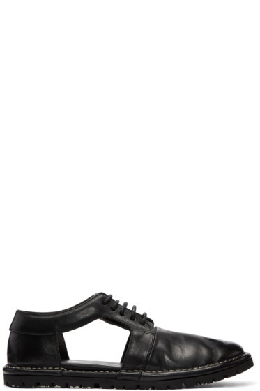 Marsèll Gomma - Black Ricicarro Cut-Out Derbys