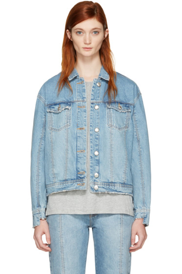 Won Hundred - Blue Denim Jackie Jacket