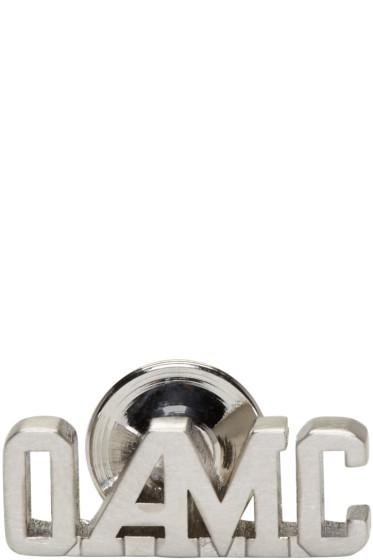 OAMC - Silver Logo Pin