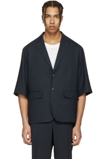 OAMC - Navy Tropic 2 Button Blazer