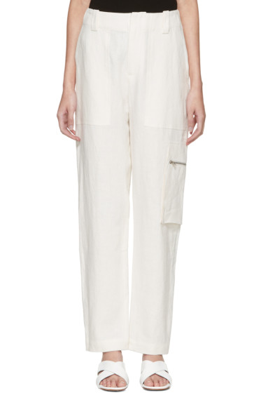 Nomia - Off-White Field Trousers