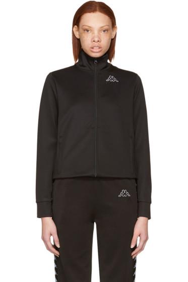 Gosha Rubchinskiy - Black Kappa Edition Logo Sleeve Track Jacket