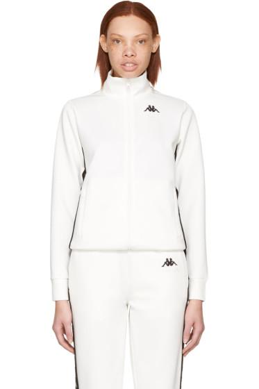 Gosha Rubchinskiy - White Kappa Edition Logo Sleeve Track Jacket