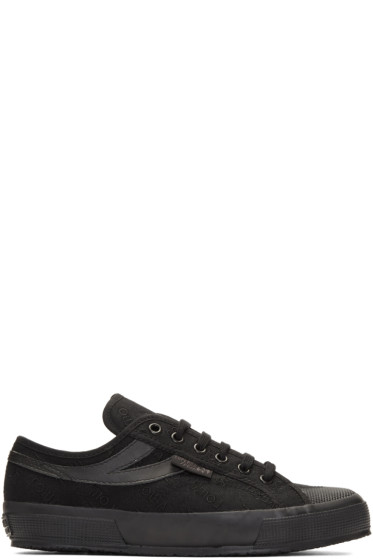 Gosha Rubchinskiy - Black Superga Sport Edition Sneakers