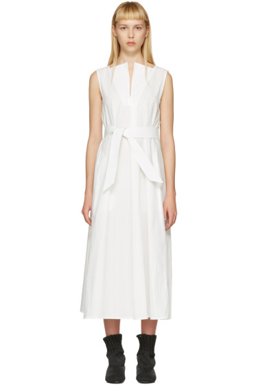 Lemaire - White Flared Dress