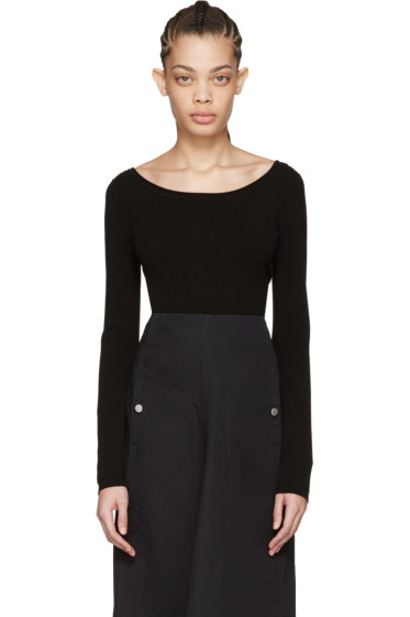 Lemaire - Black Second Skin Pullover