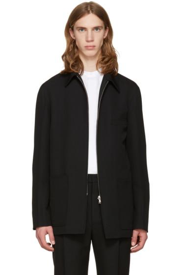 Lemaire - Black Zipped Jacket