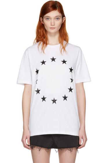 Etudes - White Page Europa T-Shirt