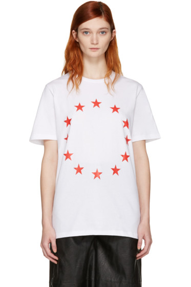 Etudes - SSENSE Exclusive White Page Europa T-Shirt
