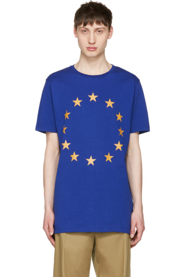 Etudes - Blue Europa Union T-Shirt