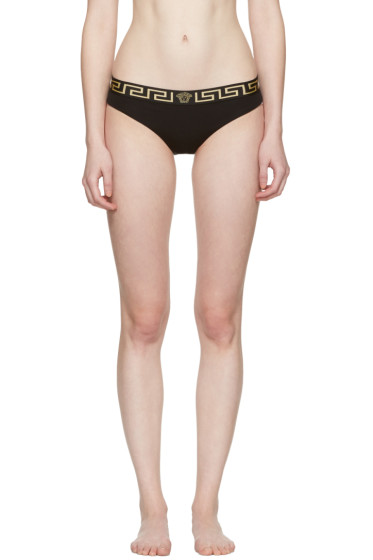 Versace Underwear - Black Medusa Briefs