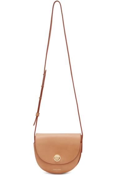 Mansur Gavriel - Tan Mini Saddle Bag