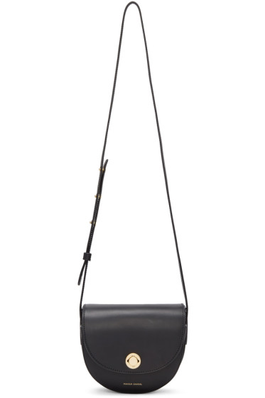 Mansur Gavriel - Black Mini Saddle Bag