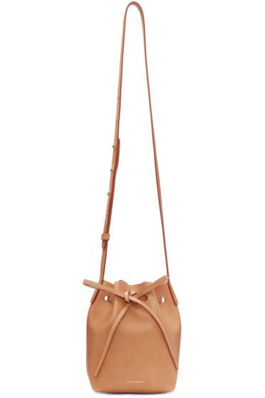 Mansur Gavriel - Tan Mini Mini Bucket Bag
