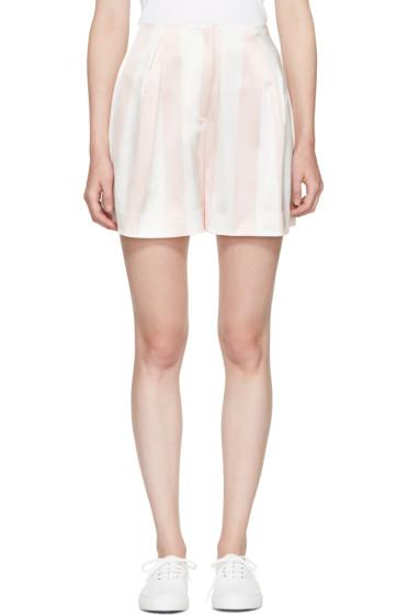 Edit - Pink & White Full Shorts