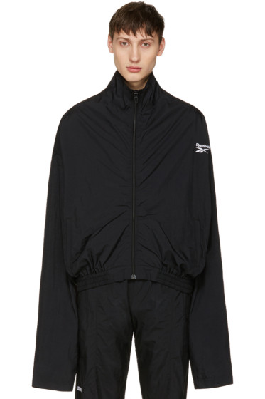 Vetements - Black Reebok Edition Chav Track Jacket