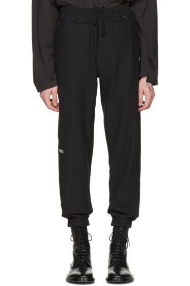 Vetements - Black Champion Edition Chav Lounge Pants