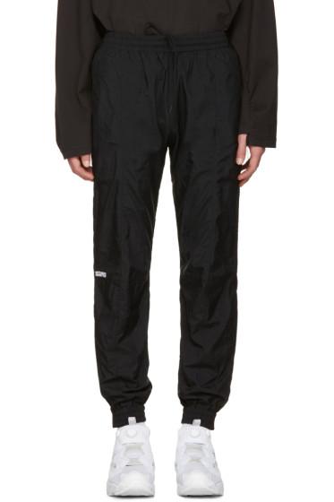 Vetements - Black Reebok Edition Biker Track Pants