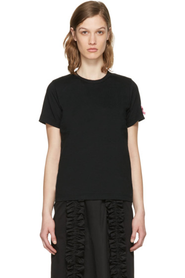 Comme des Garçons Girl - Black Pink Bow T-Shirt