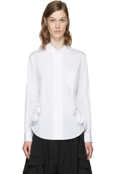 Comme des Garçons Comme des Garçons - White Ruffles Shirt