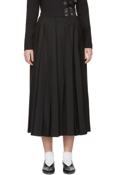 Noir Kei Ninomiya - Black Pleated Culottes
